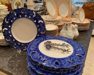 Italian Plates/Chargers