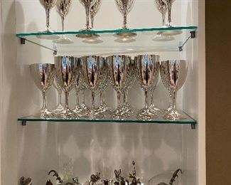 Silverplate Goblets