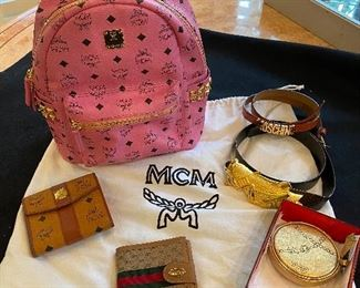 MCM Backpack, Gucci Wallet & More