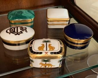 Christian Dior Decorative Boxes