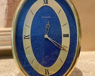 Jaeger Le Coultre Lapis Series Clock