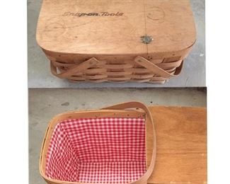 Snap-On Tools Picnic Basket