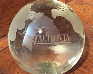 Wachovia Paperweight
