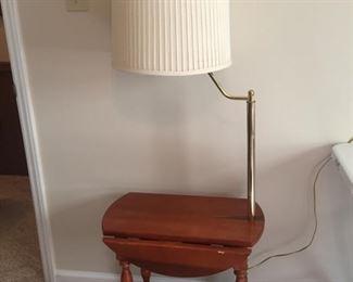 Dropleaf Lamp Table
