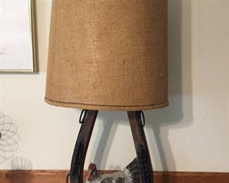 Unusual Chicken Lamp