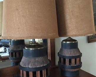 Wagon Hub Lamps