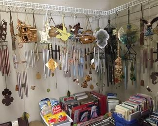 Wind Chimes and Greeting Cards