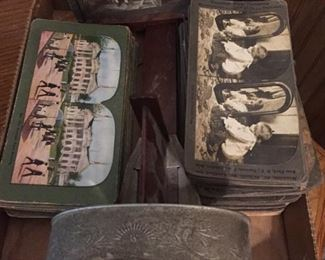 Stereoscope with Cards