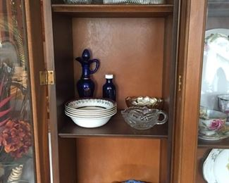 Assorted Glassware and China