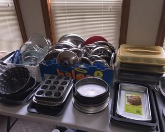 Large Assortment of Pots and Pans