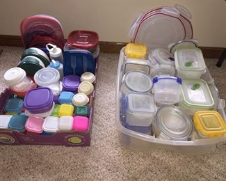 Plastic Food Storage Containers