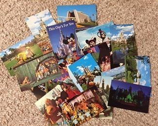 Walt Disney World Post Cards