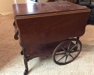 Second Tea Cart with Drawer Storage
