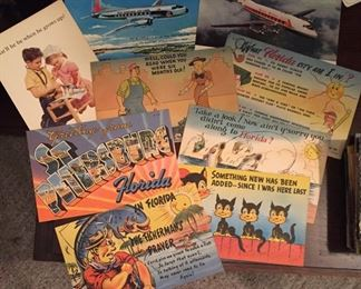 Assorted Post Cards