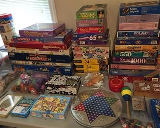 Assorted Games and Puzzles