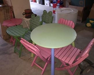 Child's Tables/Chairs