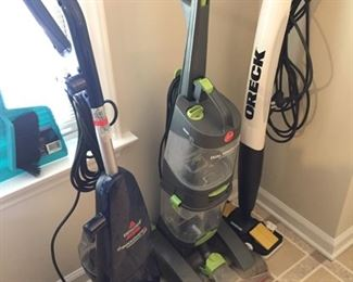 Vacuums/Carpet Cleaners