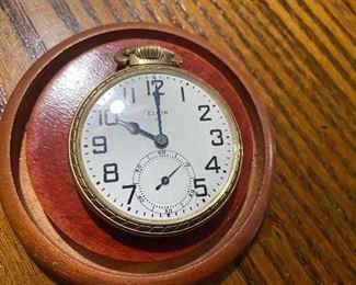 Elgin Pocket Watch(Not Running)