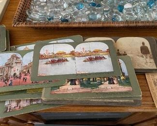Japanese Stereoview Cards