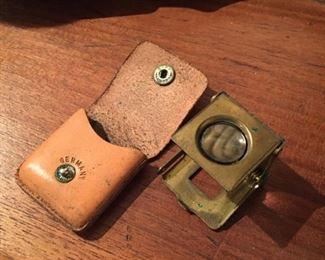 Old German Mini Magnifier