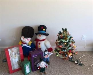 Assorted Holiday Decorations