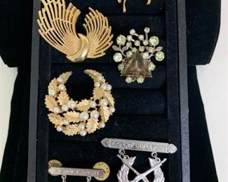 Broaches and Pendants