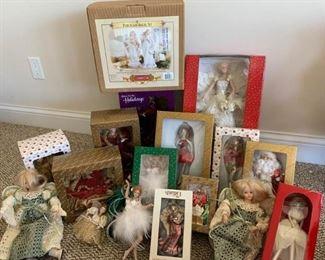 Christmas Doll Set