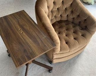 Comfy Chair with Side Table