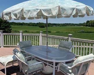Outdoor Patio Furniture, White