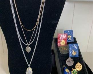 Religious Jewelry and Pendants