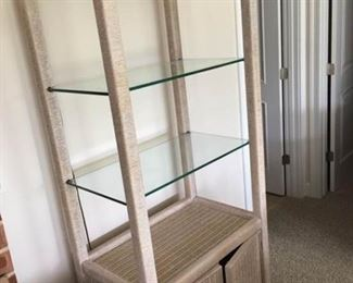 Wicker Shelf Unit