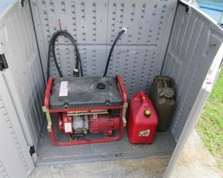 One of two generators