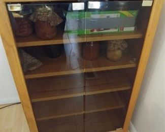 """Stereo Cabinet 24"""" by 36"""" by 17.75"""" Asking $89.00"""