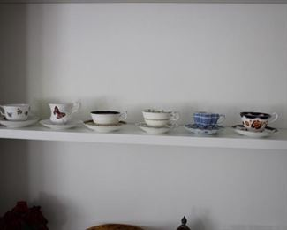 More cups & saucers