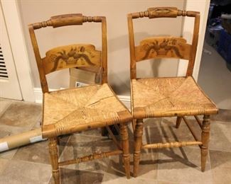 Hitchcock chairs (4 pc)