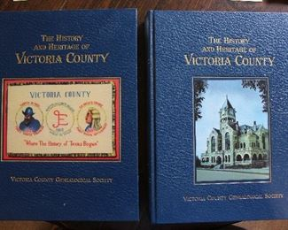 The History and Heritage of Victoria County - Volumes 1 & 2