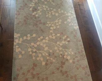 3'6 x 5'6 wool rug