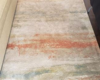 5'3 x 7'4 water color area rug