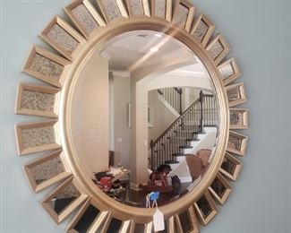 Lg modern wall mirror