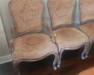 Thomasville dining chairs - set of 8