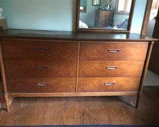 Lane mid century double dresser
