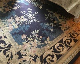 Hooked rug 8x10