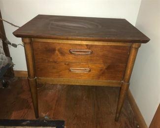 Lane mid century nightstand