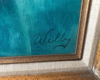 framed Welby art print you need this in your home!