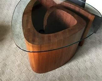 Snail end table
