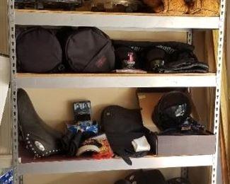 Harley gear, misc.