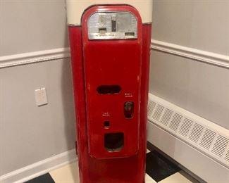 Mid Century 1956 Original Vendo 44 Coca Cola Machine, $2500