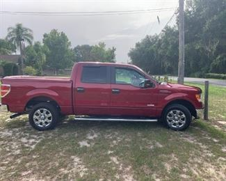 2013 Ford F-150 XLT.  41,188 Miles.  Original owner.