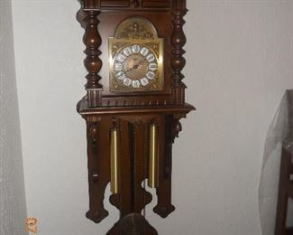 Vintage German Black Forrest Clock
