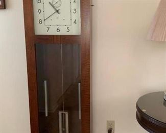 Original Alcoa Aluminum time clock. Not for sale.